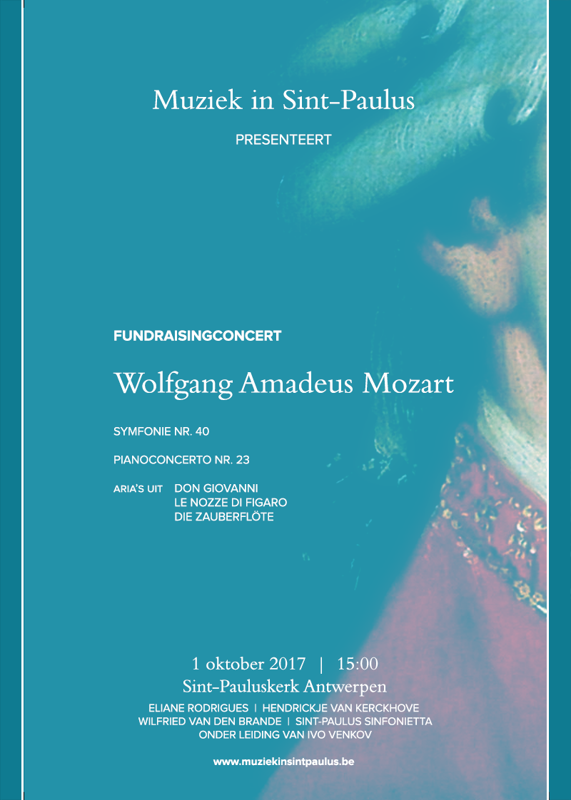 Fundraisingconcert Muziek in Sint-Paulus