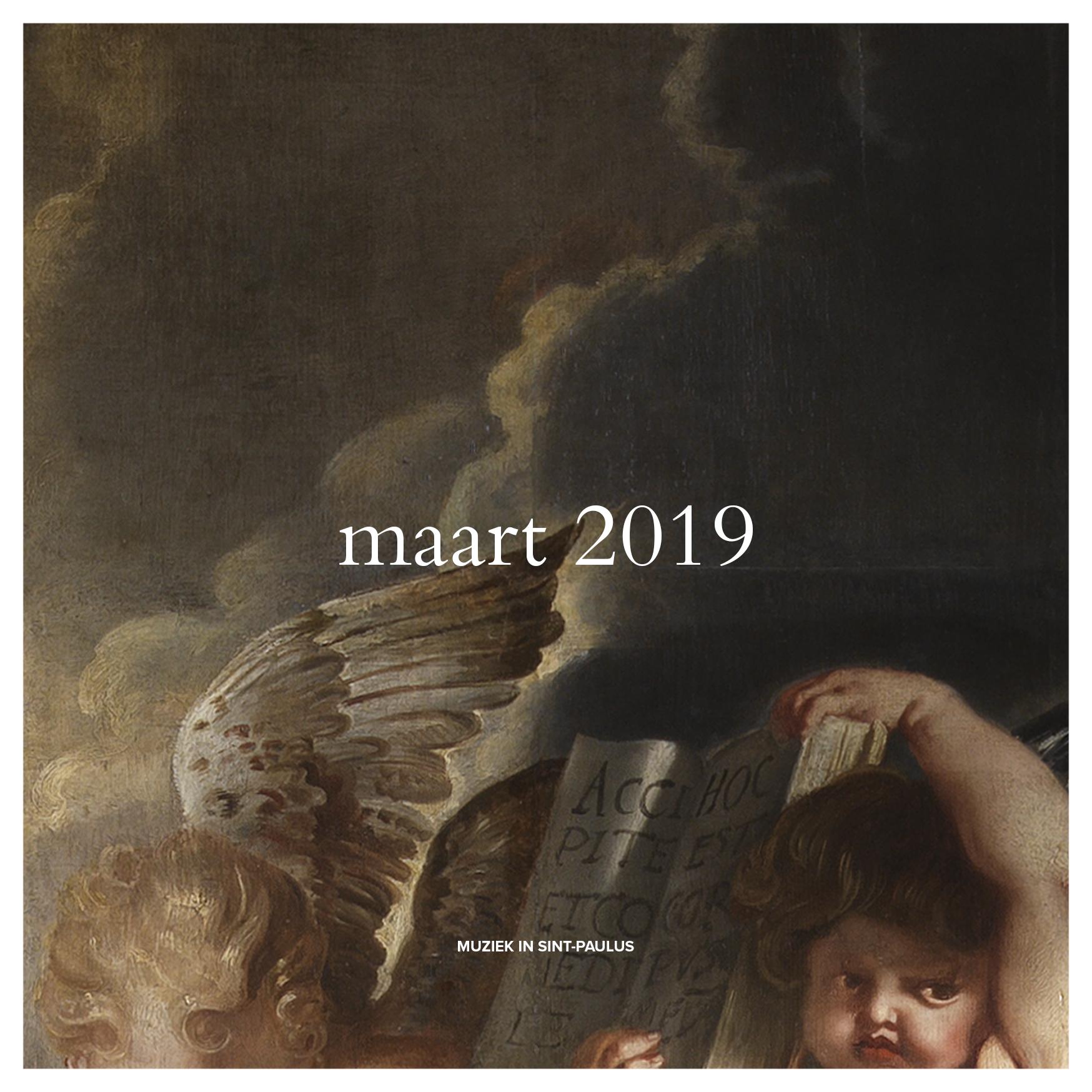 Muziek in Sint-Paulus - Maart 2019